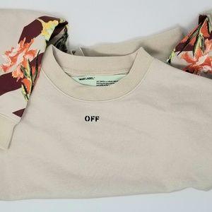 Off-White Floral sweatshirt